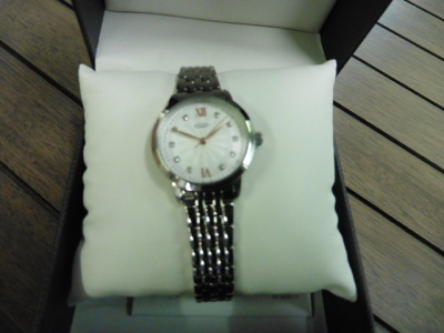 Rotary ladies watch with case