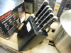 Fabre ware knife block and knives