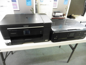 123 Brother MFCJ5230DW all in one printer with Epson XP900 all in one printer